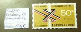 Haute Volta   MiNr: 244 Europaafrika  Postfrisch ** MNH     #4902 - Haute-Volta (1958-1984)