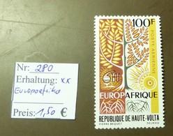 Haute Volta   MiNr: 280 Europaafrika  Postfrisch ** MNH     #4902 - Haute-Volta (1958-1984)
