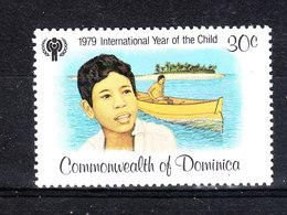 Dominica  - 1979. Anno Della Gioventù. Ragazzo In Barca. Boy In The Boat. MNH - Boten