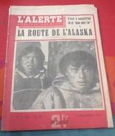 L'Alerte  N°116 Décembre 1942 Tunisie Bizerte,Plaine Cravenque La Crau,Cardinal Lavigerie,Visiteurs Du Soir,Michel Simon - Books, Magazines, Comics