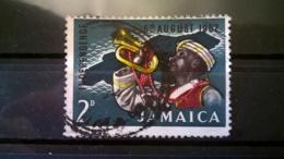 FRANCOBOLLI STAMPS GIAMAICA JAMAICA 1962 USED SERIE INDEPENDENCE OF JAMAICA - Giamaica (1962-...)