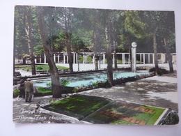 """Cartolina Viaggiata """"FIUGGI FONTE Parco Sorgente Anticolana""""1965 - Altre Città"""