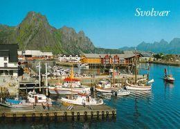 1 AK Norwegen Lofoten * Ansicht Von Svolvær - Die Größte Stadt Der Lofoten * - Norwegen
