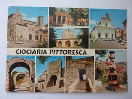 """Cartolina Viaggiata """"CIOCIARIA PITTORESCA"""" 1978 - Altre Città"""