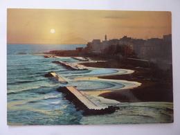 """Cartolina Viaggiata """"ANZIO Riviera Di Ponente - Tramonto"""" 1972 - Altre Città"""