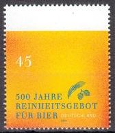 Bund MiNr. 3229 ** 500 Jahre Reinheitsgebbot Für Bier - Nuovi