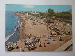 """Cartolina Viaggiata """"TERRACINA  Spiaggia"""" 1971 - Altre Città"""