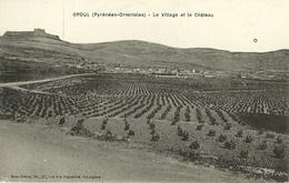 Opoul Le Village Et Le Chateau - Autres Communes