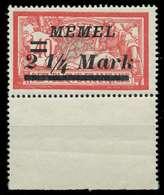 MEMEL 1922 Nr 89 Postfrisch URA X887AF2 - Klaipeda