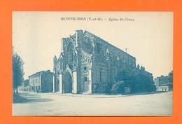 CPA FRANCE 82  ~  MONTAUBAN  ~  Eglise St-Orens - Montauban