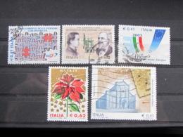 *ITALIA* LOTTO 5 USATI 2003 - NONANTOLA PRESIDENZA DISABILITA' NATALE MOTORE SCOPPIO - 6. 1946-.. Repubblica