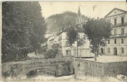 Amelie Les Bains La Mairie Et La Place - Autres Communes