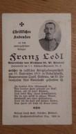 Sterbebild Wk1 Ww1 Bidprentje Avis Décès Deathcard KUK Schützen Regt 2 OMSK Sibirien Radaschinsky Aus Kirchham 20 - 1914-18
