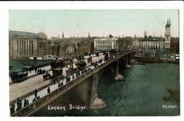 CPA - Carte Postale-  Royaume Uni - London - Bridge -1908  S5072 - London