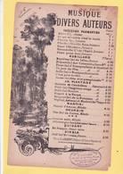 PARTITION  N°16/ PAUVRE NOIR DE GOUDIN / MELODIE CONTRE L ESCLAVAGE  / - Musique & Instruments