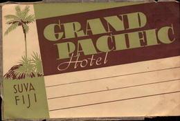 Etiquettes, Fiji, Suva, Grand Pacific Hotel     (bon Etat) - Adesivi Di Alberghi