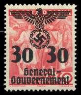GENERALGOUVERNEMENT Nr 23 Postfrisch X889E06 - Occupation 1938-45