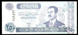 IRAK. Billet De 250 Dinars. Saddam Hussein. - Iraq