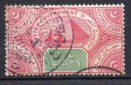 EGYPTE  ( POSTE ? ) : Y&T  N°  ?  TIMBRE  BIEN  OBLITERE . - 1915-1921 Protectorat Britannique