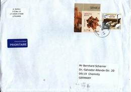 1 Brief Aus Litauen /  1 Cover From Lietuva - Lituanie