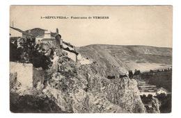 ESPAGNE - SEPULVEDA Panorama De VERGERS - Espagne