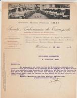 Facture Illustrée 30/5/1932 Ex Gilly SNT Société Narbonnaise De Transports NARBONNE Aude à Coopérative Ouveillan - France
