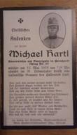 Sterbebild Wk1 Ww1 Bidprentje Avis Décès Deathcard KUK Italien Italia Bernhardschlag Nr. 30 15. Mai 1916 - 1914-18