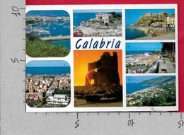 CARTOLINA VG ITALIA - CALABRIA - Vedutine Multivue - 10 X 15 - ANN. 2000 AVVENTO LA SCIENZA - Non Classificati