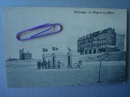 ZEEBRUGGE : La Plage Et Les Hôtels  En 1908 - Zeebrugge