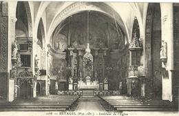 Estagel Interieur De L Eglise - Autres Communes