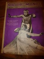 1937 LE MIROIR DU MONDE :Catherine Littlefield Ballets Philadephie;Art Chine Ancienne;Géricault,Segonzac;Queen VICTORIA - Books, Magazines, Comics