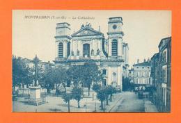 CPA FRANCE 82  ~  MONTAUBAN  ~ La Cathédrale - Montauban