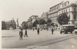 Romania - Bucuresti - Universitatea - Old Time Bus - Roumanie