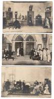 """THEATRE - Lot De 7 Cartes De La Représentation à L'Ambigu De La Pièce """"les Deux Gosses"""", Cartes Pionnières - Theatre"""