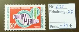 Cameroun Europafrique Europa  MiNr: 633  Postfrisch ** MNH     #4907 - Cameroun (1960-...)