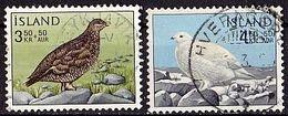 ISLAND Mi. Nr. 388-389 O (A-1-42) - 1944-... Republik
