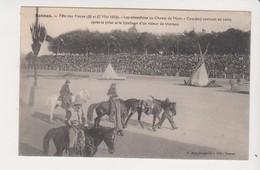 26653 Rennes 35 France Fete Fleurs 1912 Champ Mars Cow Boy Lynchage Voleur Chevaux Indiens-ed Mary Rousseliere - Rennes