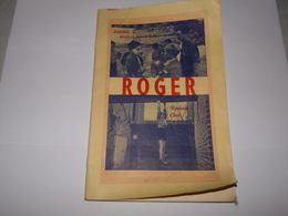 Rare.Ath.Roman Ciné Roger Abbé J.Boulanger Avec Garçons Et Dirigeants Du Patronage De Ath Acteurs Principaux Du Film. - Cinéma/Télévision