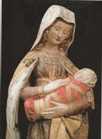 Carte Postale Moderne - Vierge Bulliot - Pierre Polychromée, XV°Siècle - Autun - Musée Rollin - Vergine Maria E Madonne