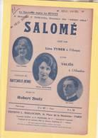 PARTITION  N°21 / SALOME / TYBERT / BATAILLE / MUSIQUE DE STOL / A L ALHEMBRA / - Musique & Instruments
