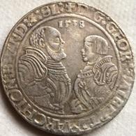 RÉPLICA Moneda ½ Guldiner. 1538. Brandenburgo, Alemania - Taler Et Doppeltaler