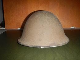 CASQUE ANGLAIS HELMET STEEL MARK III 1943 - Casques & Coiffures