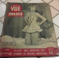 Point De Vue Images Du Monde N°27 Décembre 1948 Pétain,Berlin,Homéopathie,Danos Pierrot Le Fou,Michèle Verly - Books, Magazines, Comics