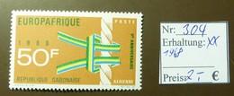 Gabunaise  Europafrique Europa  MiNr: 304  Postfrisch ** MNH     #4908 - Gabun (1960-...)