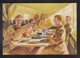 DR Nazikunst RAD / Beim Essen - Weltkrieg 1939-45