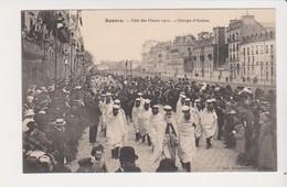 26655 Rennes 35 France Fete Fleurs 1910 Groupe Arabes -quai Lamennais Dugay Trouin -ed Mary Rousseliere - Rennes