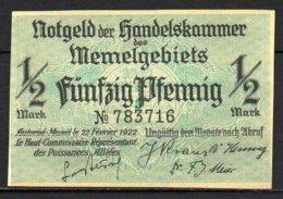 617-Memel Lot De Billets De 1922, Je Pense Des Reproductions - Bons & Nécessité
