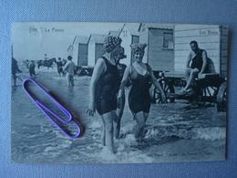 LA PANNE : Les Bains .... En 1920 - De Panne