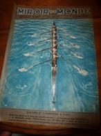 1937 LE MIROIR DU MONDE :Oxford, Cambridge;Hitler; Le Courage Et L'acier ; Les Vétérans De L'aviation;Queen Victoria;etc - Books, Magazines, Comics