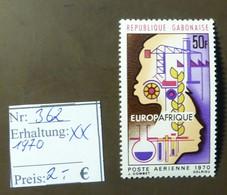 Gabunaise  Europafrique Europa  MiNr: 362  Postfrisch ** MNH     #4908 - Gabon (1960-...)